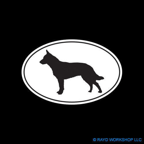 Australian Cattle Dog Euro Oval