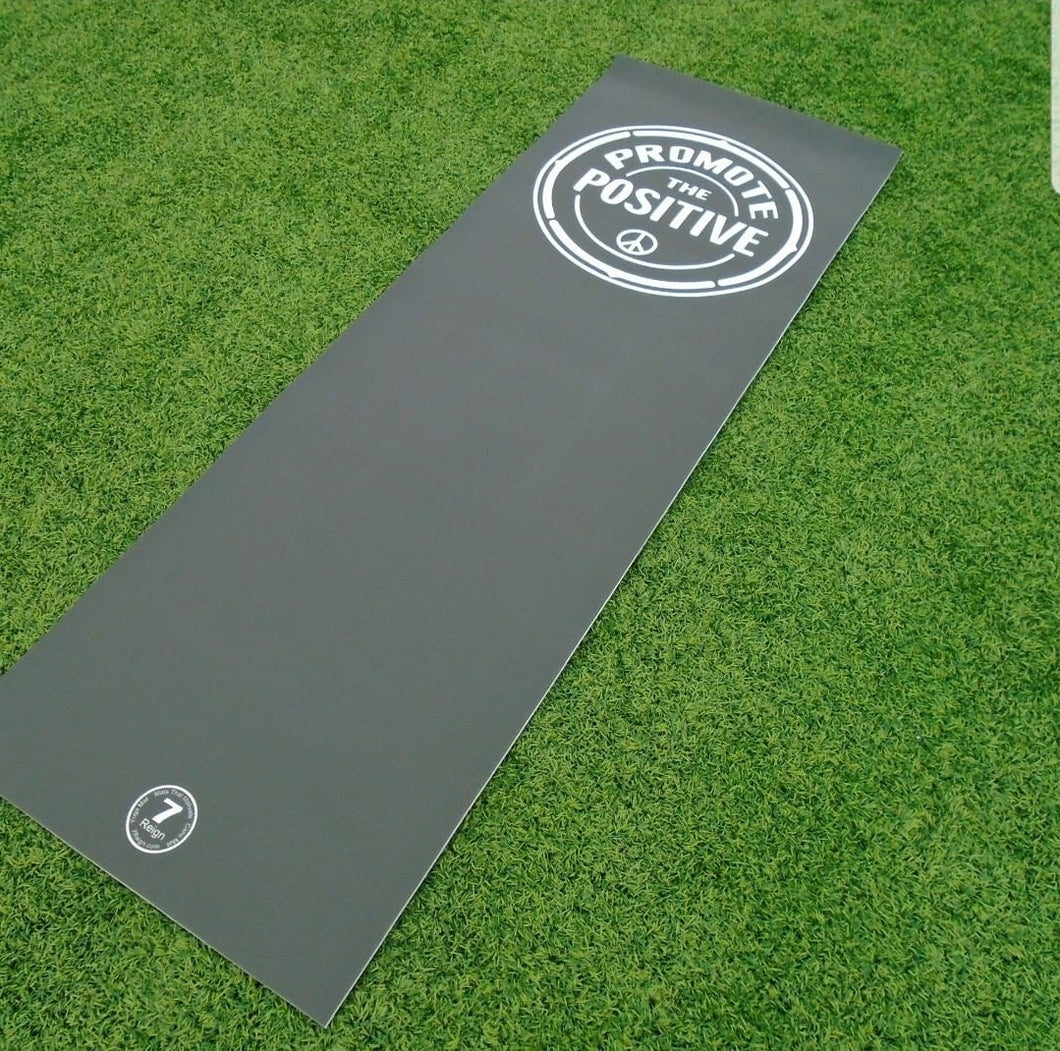 Promote the Positive Yoga Mat with carry bag