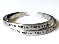 Today Matters More Bracelet