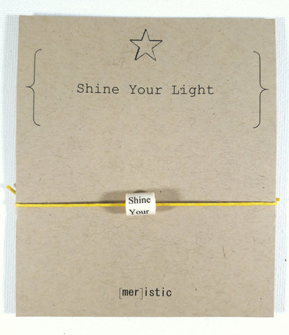 Shine Your Light Bead Bracelet