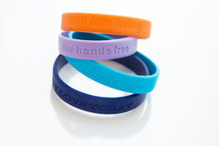 I Choose Love Band-Teal