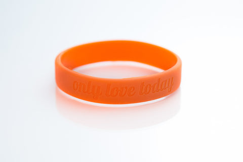 Only Love Today Band-Orange