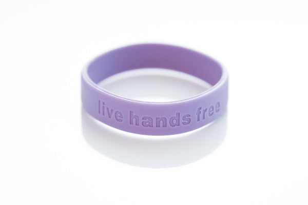 Live Hands Free Band-Lavender