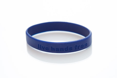 Live Hands Free Band-Navy
