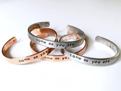 Come As You Are Bracelet