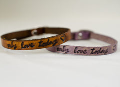 Only Love Today Bracelet-Lavender