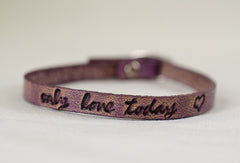 Only Love Today Bracelet-Brown