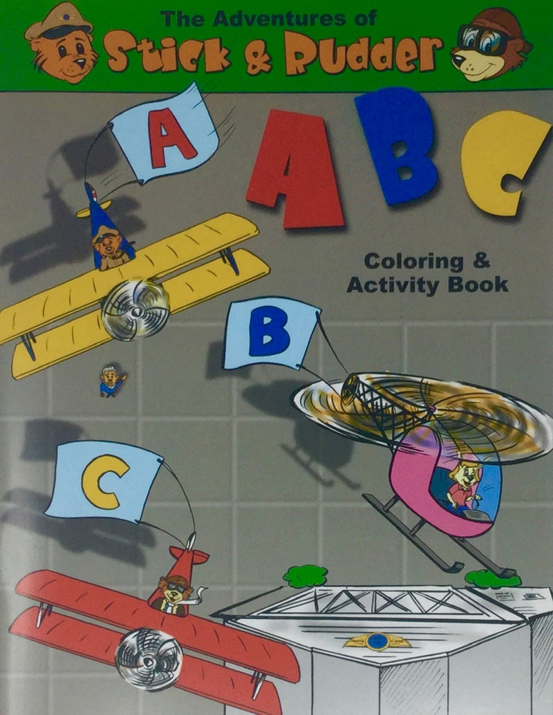 Book - Stick and Rudder - ABC Colouring and Activity Book