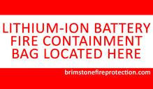 Brimstone Battery Fire Containment Kit - Small (Tablet/ Phone)