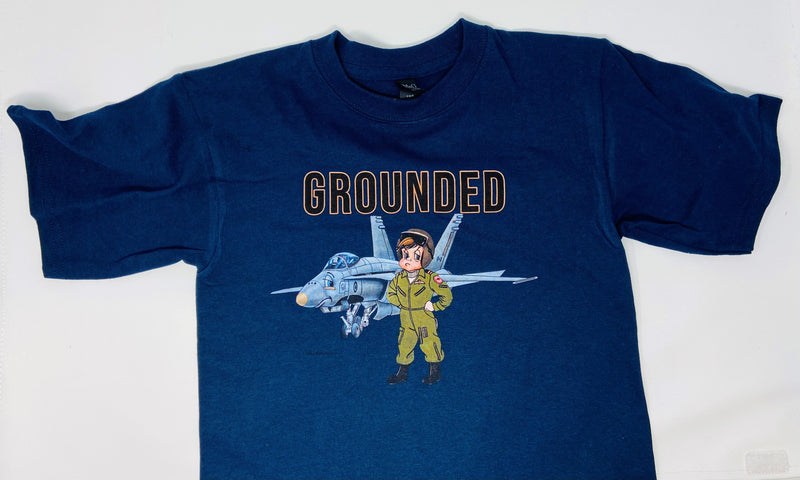 "T-Shirt - ""Grounded"""
