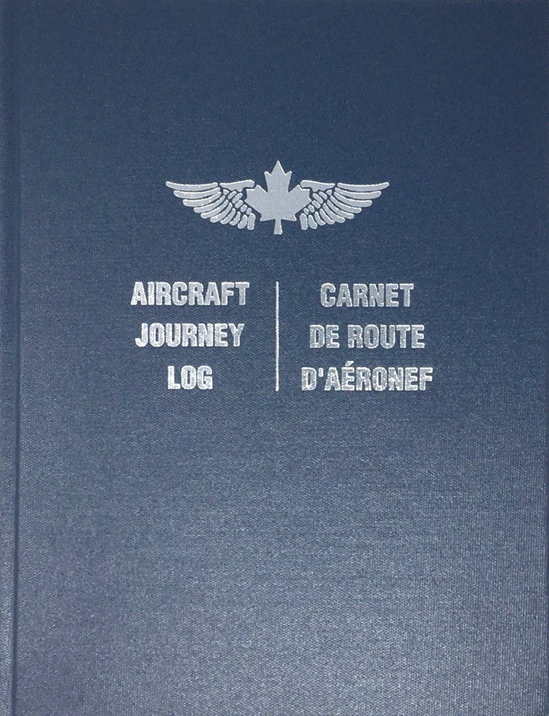 Aircraft Journey Log - Hardcover