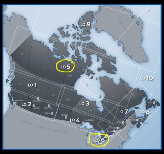 Enroute Low Altitude Charts - Canada and North Atlantic (3)