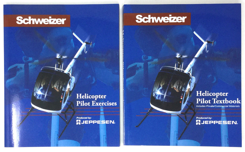 Schweizer Helicopter Pilot Textbook and Pilot Exercises Book - Bundle Pack