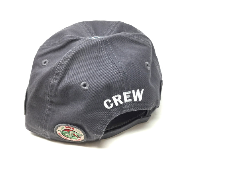 "Waterloo Warbirds Hat - Grey  ""CREW"""