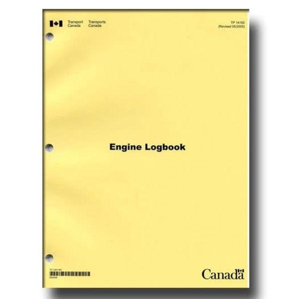 TRANSPORT CANADA ENGINE SECTION TECH LOG PUBLICATION