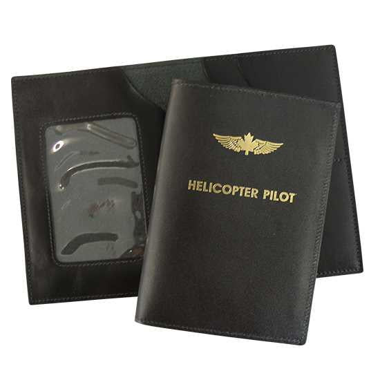 Pilot Licence Document Booklet Holder - Helicopter