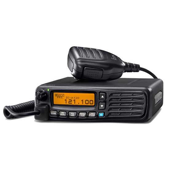 ICOM IC-A120  Mobile VHF Radio, Base Station Cover ICO11, Power Supply ICT Promotional Package