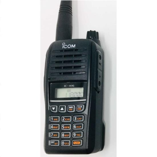 ICOM A16 VHF Air Band Transceiver