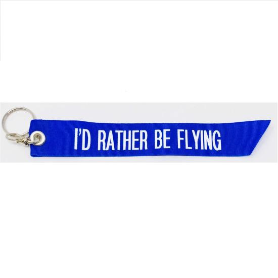 Key Chain - I`d Rather Be Flying