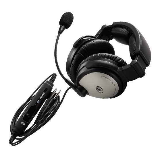 Lightspeed SIERRA® ANR Headset with Bluetooth®