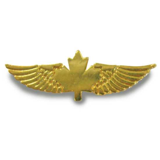 Pilot Wings - Gold Pewter