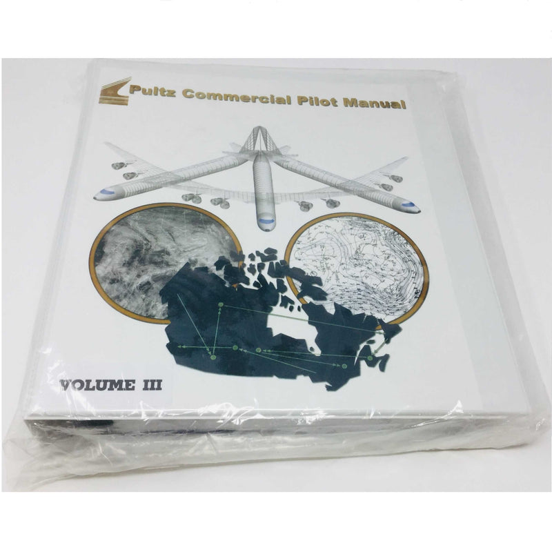 Pultz Commercial Pilot Manual - 3 Binders