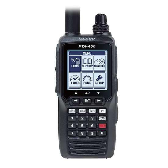 Yaesu FTA-450L Air Band VHF Radio Transceiver