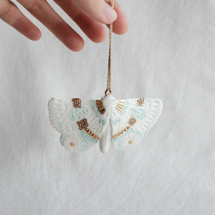 Porcelain Moth Wall Hanging | Outstretch