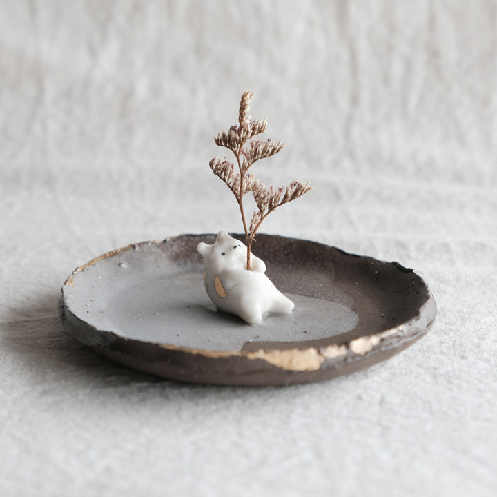 Wabi Sabi Guardian Dish | Soft Bear