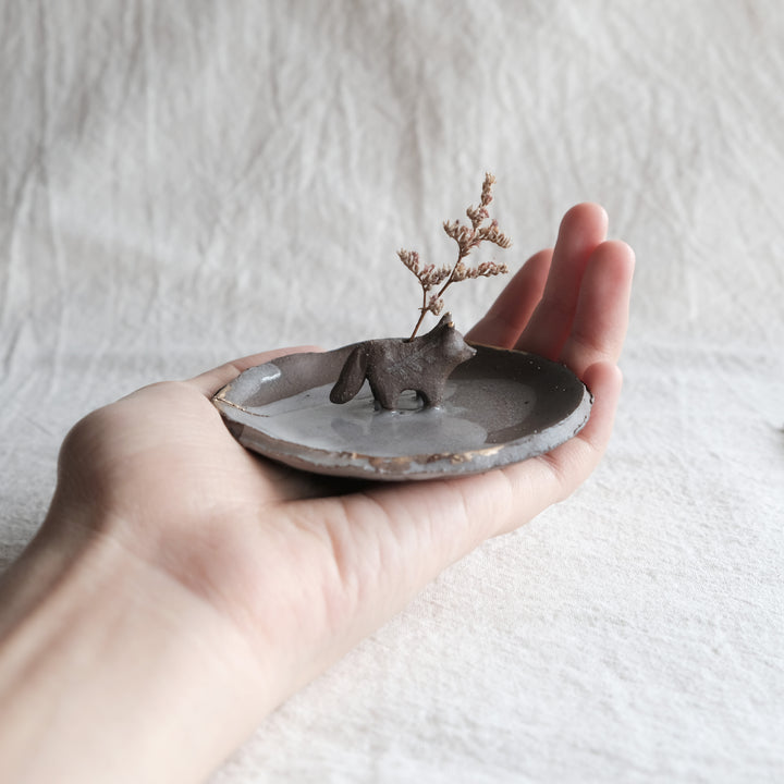 Wabi Sabi Guardian Dish | Dark Fern Fox