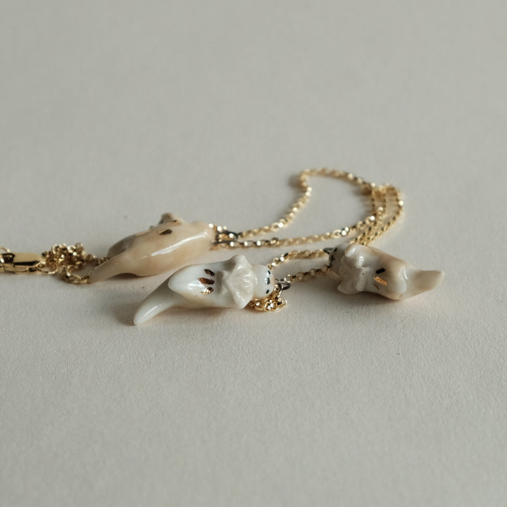 Scallop Otter Necklace