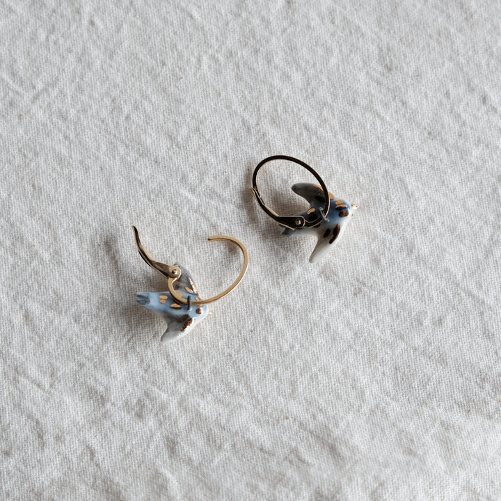 Pacific Swallow 14k Gold Filled Ear Huggies