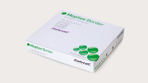 Mepilex Border 10cm x 10cm Box (5) - First Aid Distributions