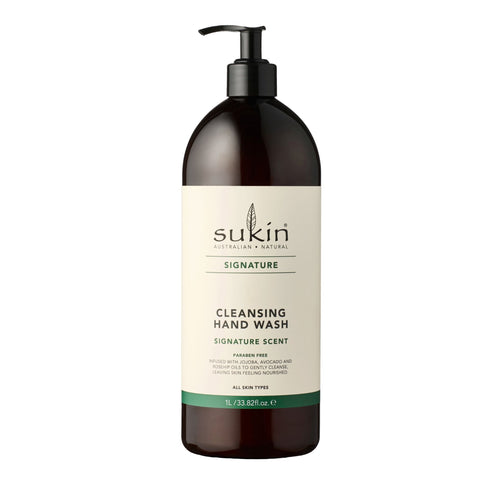 Sukin Cleansing Hand Wash Signature Scent 1litre