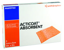 Load image into Gallery viewer, Acticoat Absorbent Antimicrobial Alginate Dressing - First Aid Distributions