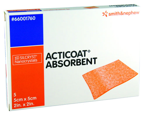 Acticoat Absorbent Antimicrobial Alginate Dressing - First Aid Distributions
