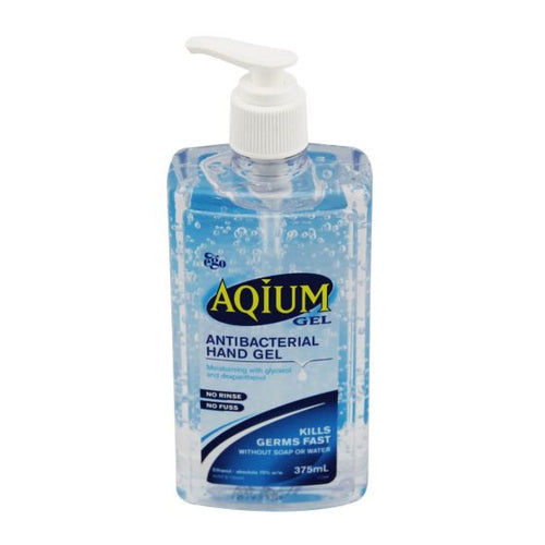 Aqium Hand Sanitiser Gel - First Aid Distributions
