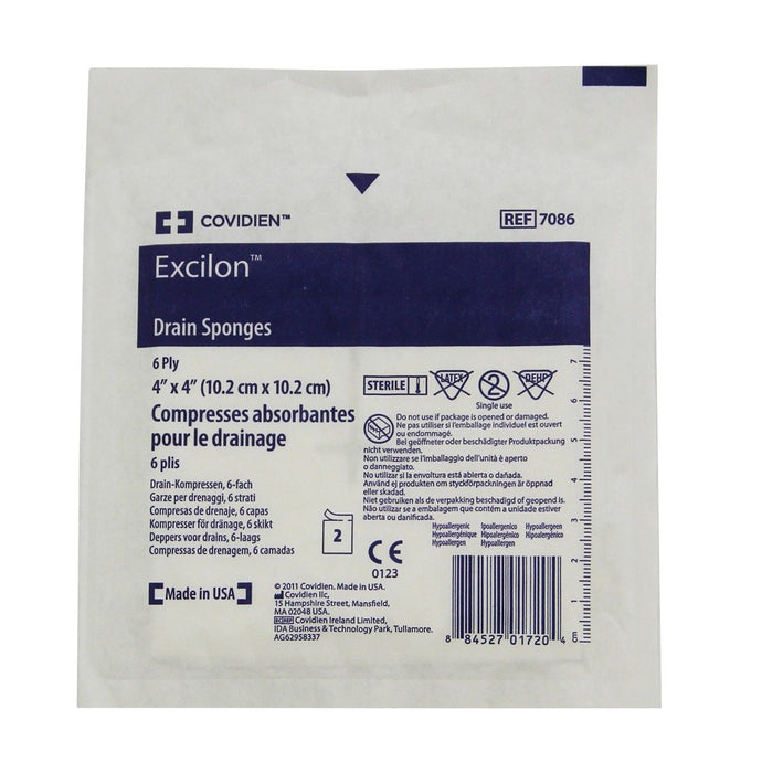Drain Sponge Excilon 10cm (2) - First Aid Distributions