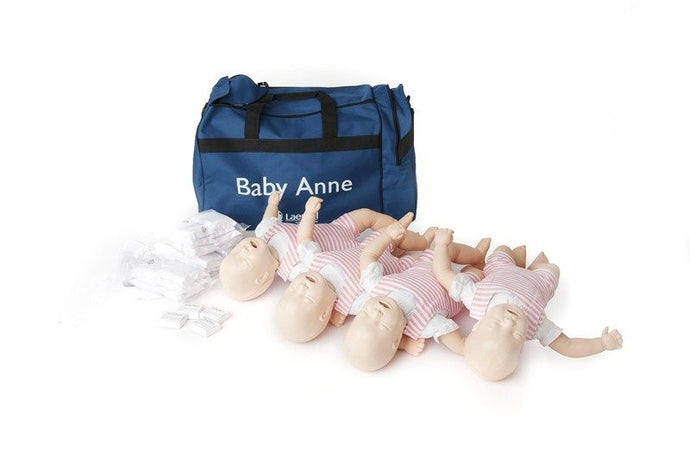 Baby Anne 4 Pack Laerdal - First Aid Distributions