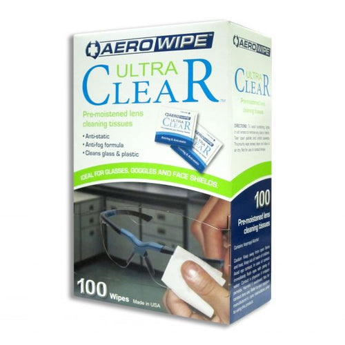 Clear Lens Wipes - First Aid Distributions