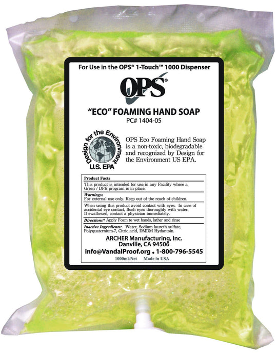 OPS Eco Foaming Hand Soap - First Aid Distributions