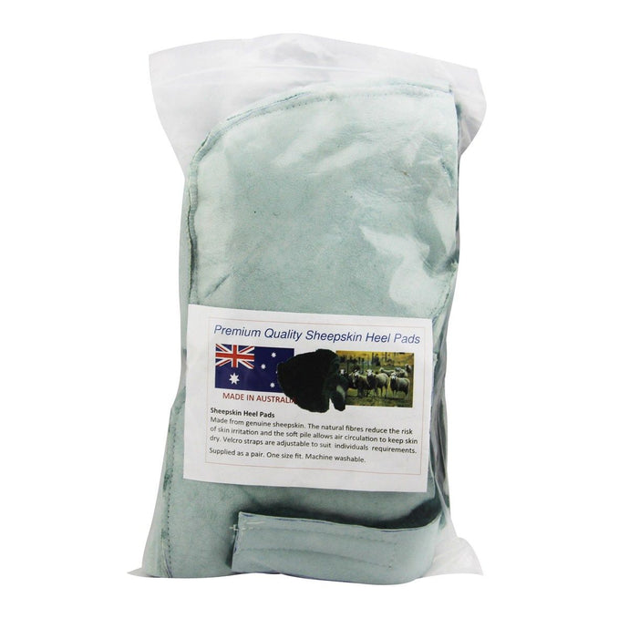 Sheepskin Heel Protectors - First Aid Distributions