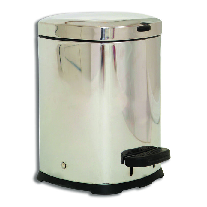 Stainless Steel Pedal Bin 12 Litres - First Aid Distributions