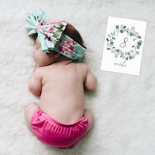 Load image into Gallery viewer, 1st Year Baby Milestone Cards with Scripture Verses