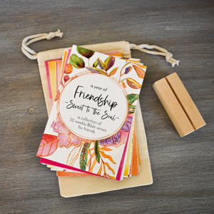 A Year Friendship - Scripture Memory Verse Cards