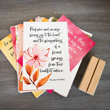 Load image into Gallery viewer, A Year Friendship - Scripture Memory Verse Cards