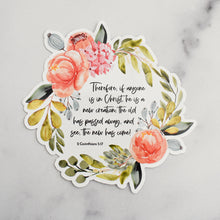 Load image into Gallery viewer, Bible Memory Verse Vinyl Static Cling Stickers