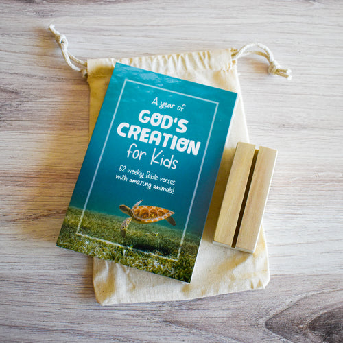 God's Creation for Kids! Scripture Memory Verse Cards