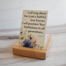 Load image into Gallery viewer, Premium Wood Display & Storage Tray for Weekly Bible Verse Cards