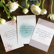 Load image into Gallery viewer, ABC Bible Verse Cards for New Baby Girl